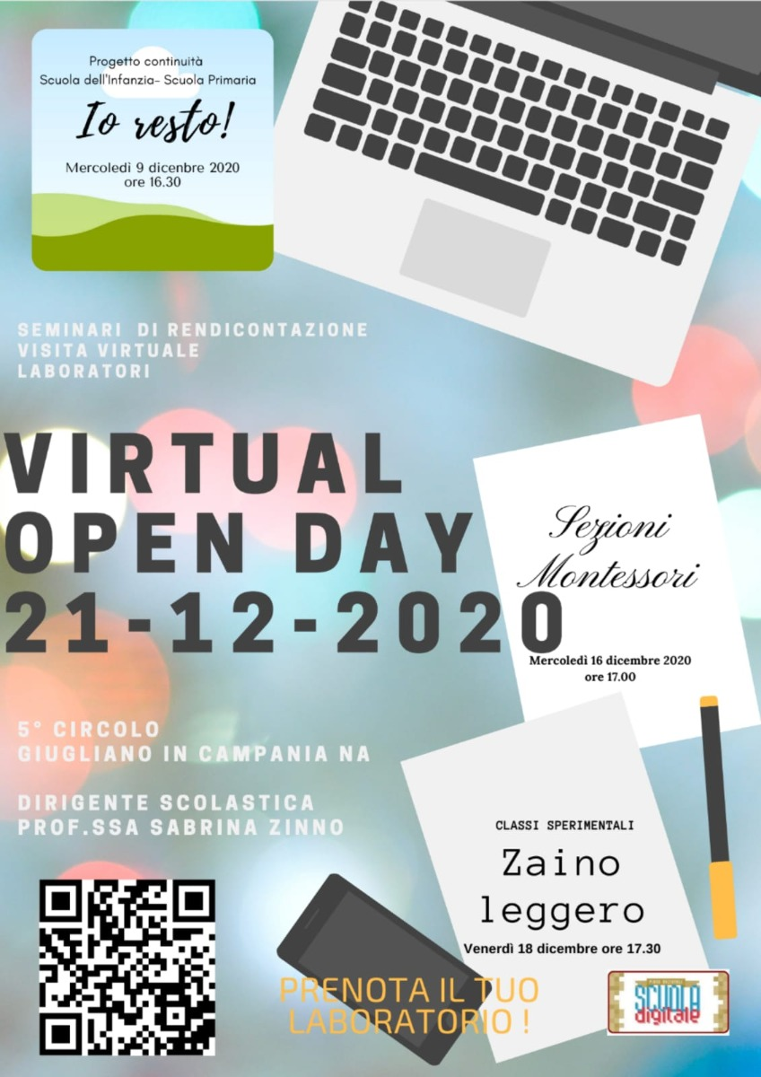 VIRTUAL OPEN DAY 2020
